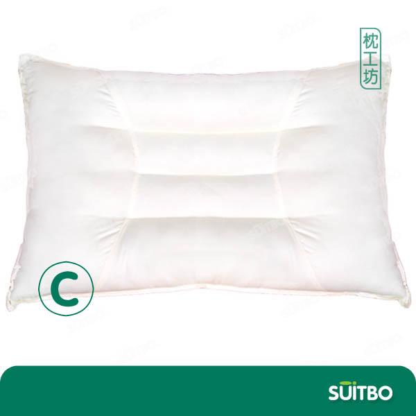 天然蒲绒护颈枕C